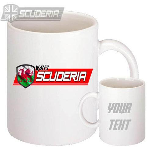 scuderia Wales 10oz Mug White