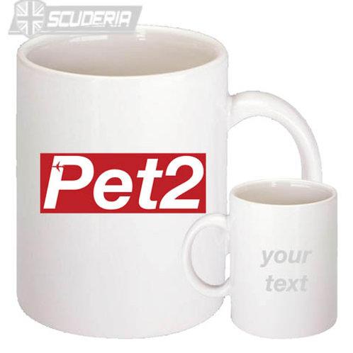 PET2  10oz Mug White