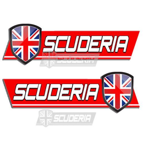 Scuderia bumper sticker LARGE