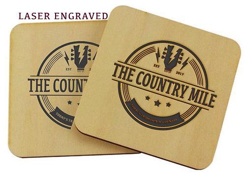 County Mile Wood Coaster
