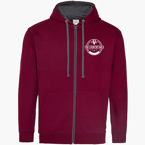 country mile  zipped hoody