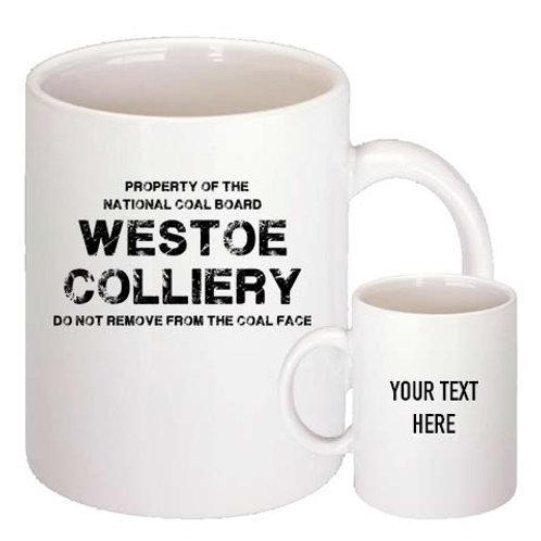 Westoe Colliery mug