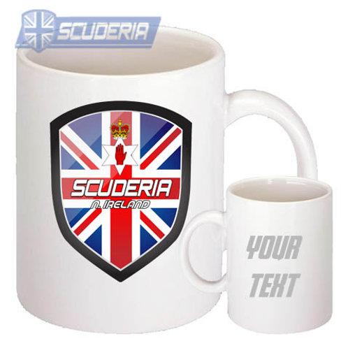 Scuderia N/IRELAND shield 10oz Mug White