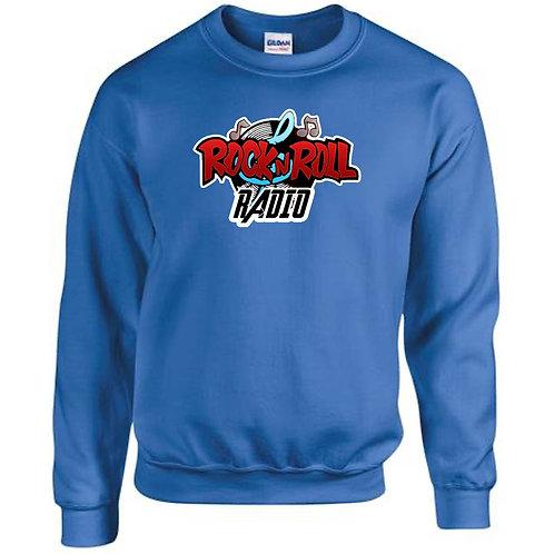 UNISEX Sweatshirt - rock n roll radio