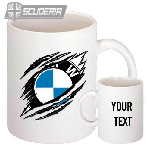 BMW rip 10oz Mug White