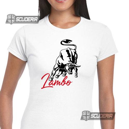 Ladies Fit Tee shirt -LAMBObull