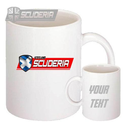 Scuderia SCOTLAND 10oz Mug White