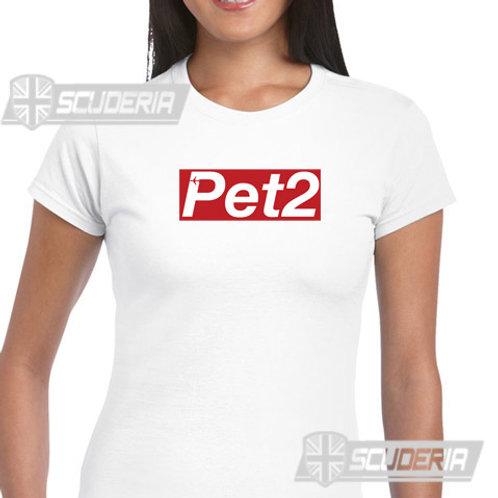 Ladies Fit Tee shirt -PET 2