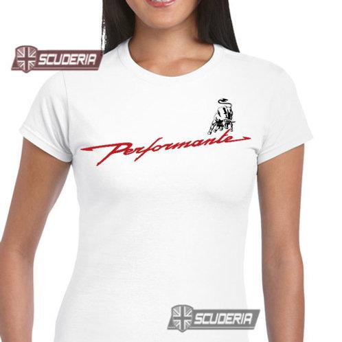 Ladies Fit Tee shirt -performate