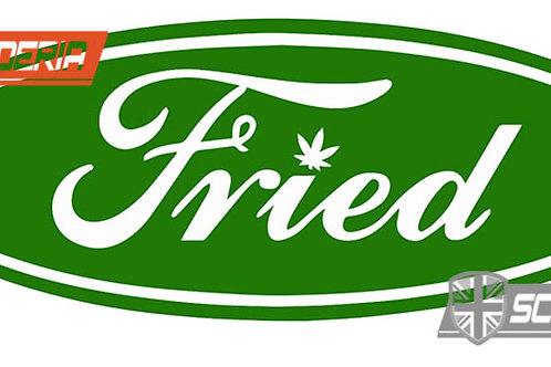 fried ford Sticker, 12cm
