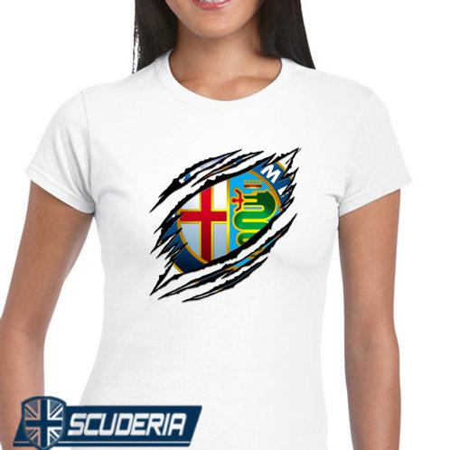 Ladies Fit Tee shirt -ALFA RIP