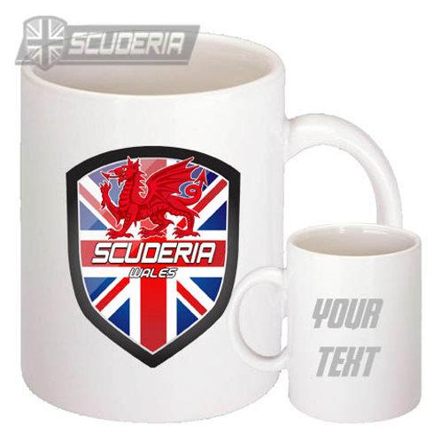 Scuderia WALES shield 10oz Mug White