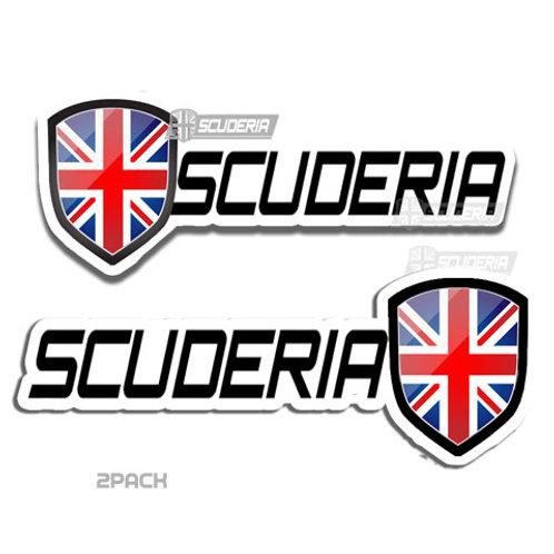 scuderia bumper sticker