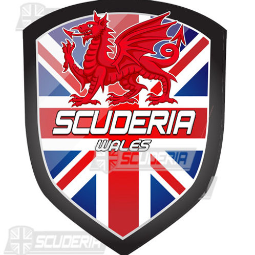 copy of Scuderia WALES bumper sticker LARGE