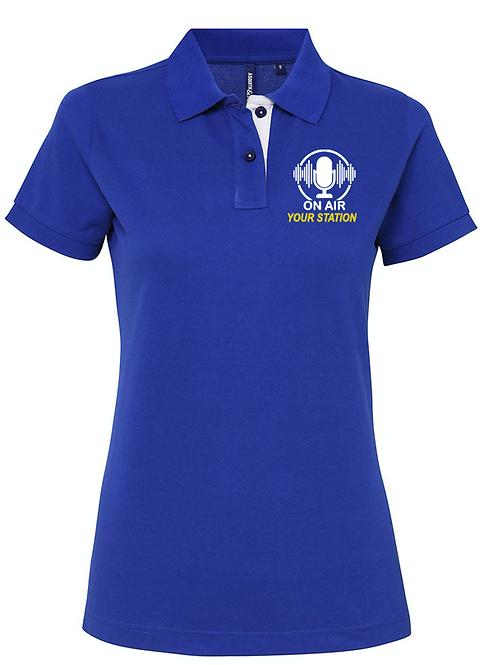 WOMENS polo shirt ON AIR- AQ022