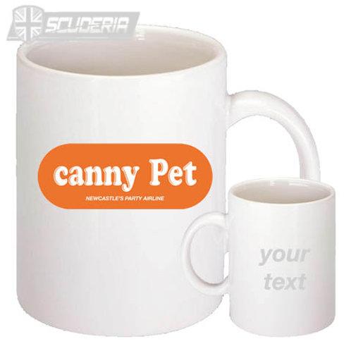 CANNY PET  10oz Mug White