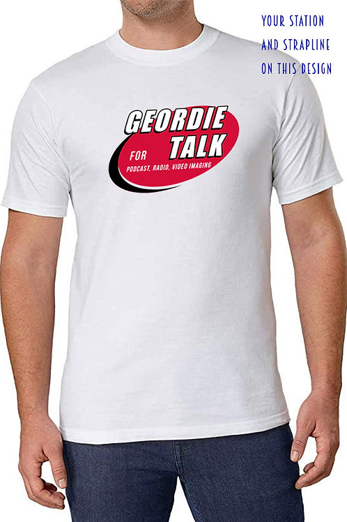 add your station talk  tee shirt