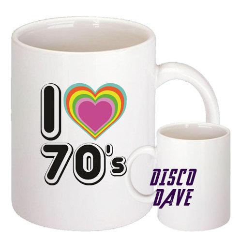 I love 70;s MUG