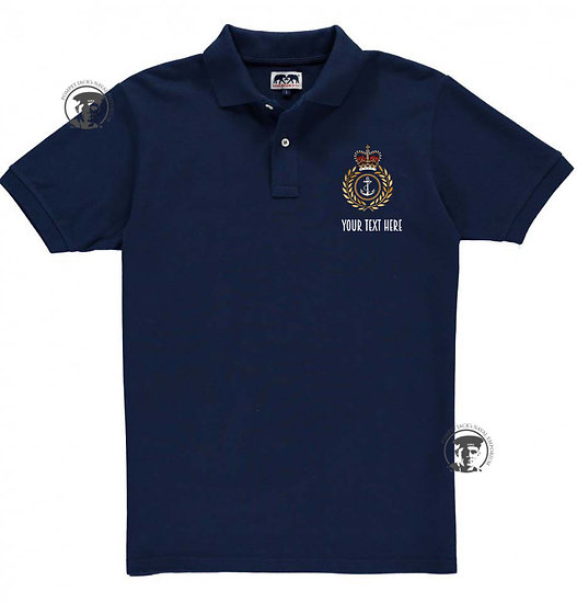 Rank Badge Polo (Under MoD licence)
