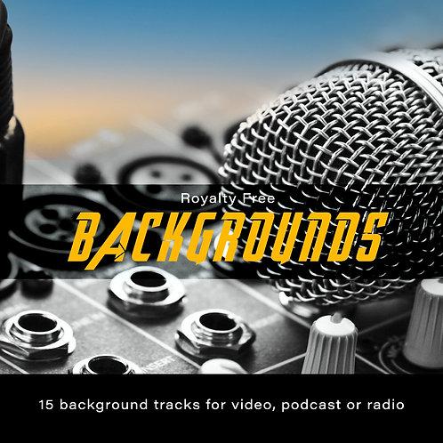 15 backing tracks