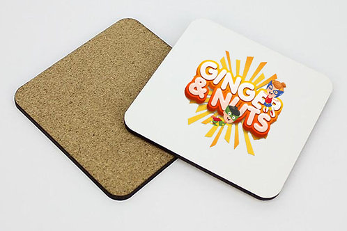 Ginger and nuts coaster