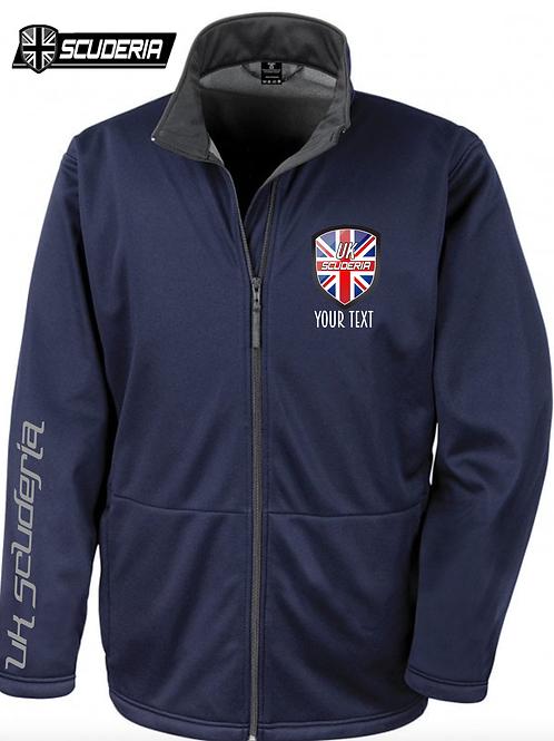 Mens Soft Shell Jacket UK SCUDERIA