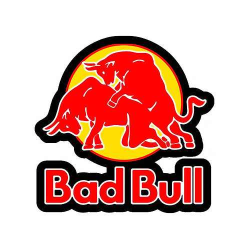 BAD BULL Sticker, 9cm