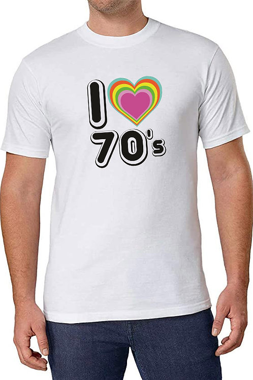 I love the 70's tee shirt