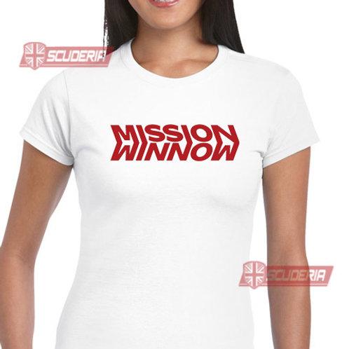 Ladies Fit Tee shirt -Mission