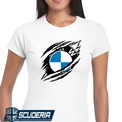 Ladies Fit Tee shirt -BMW RIP
