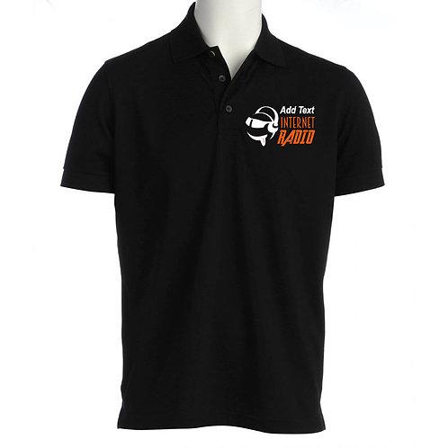 Unisex Polo Shirt INTERNET RADIO
