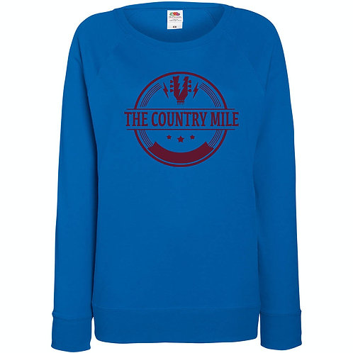country mile Ladies Soft feel sweat top