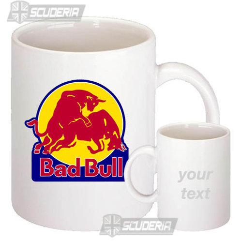 10oz Mug WhiteBad Bull