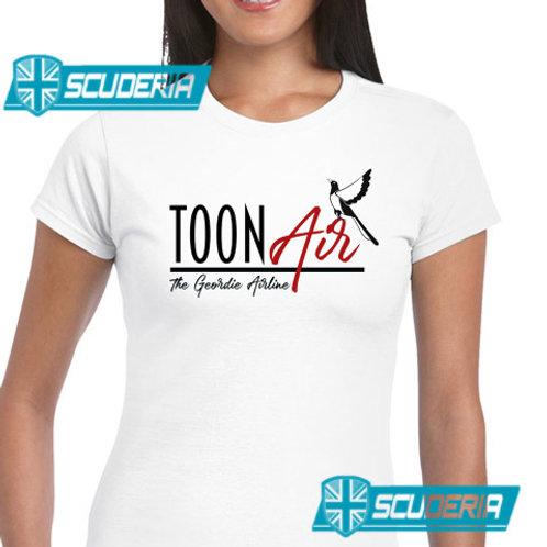 Ladies Fit Tee shirt -TOON AIR