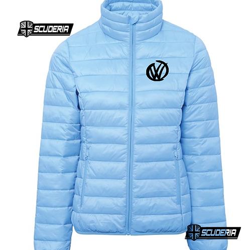 Woman's Padded jacket, VW sky blue
