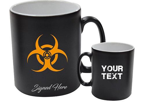Black Doomsday BIO mug - Signed by Sol (Craig Conway)