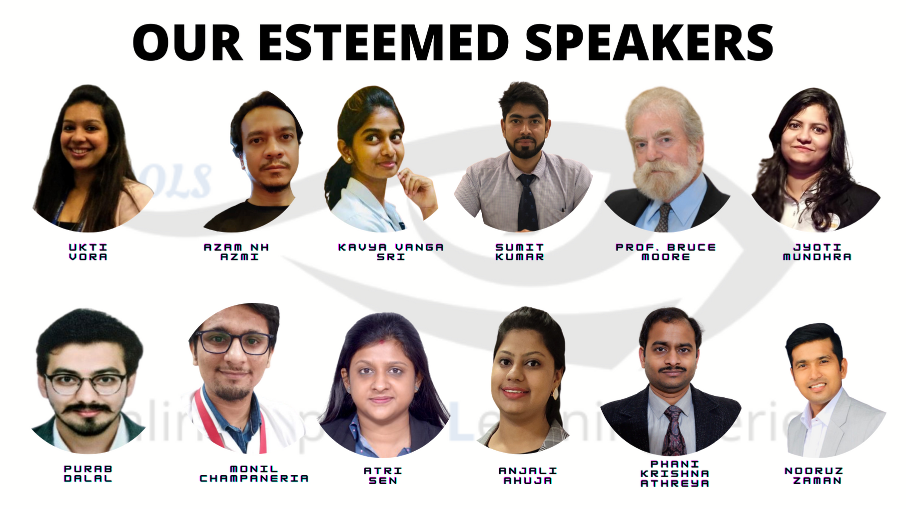OOLS Esteemed Speakers