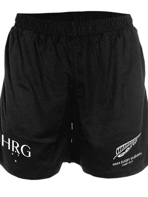 HRG Black Training Shorts