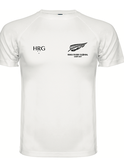 HRG Black  White Training Tee
