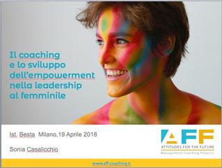Empowerment e Leadership al femminile all'Istituto Besta di Milano
