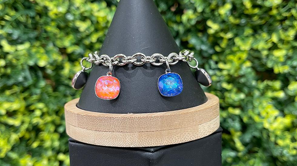 Cushion Charm Bracelet
