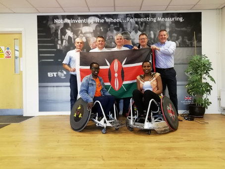 Discover the link between SWBA and wheelchair rugby in Kenya