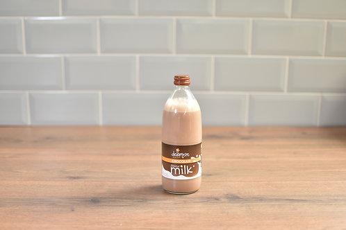 DELAMERE CHOCOLATE MILK 500ml GLASS