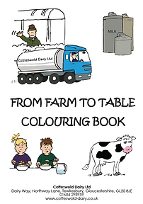 COTTESWOLD DAIRY Colouring Book