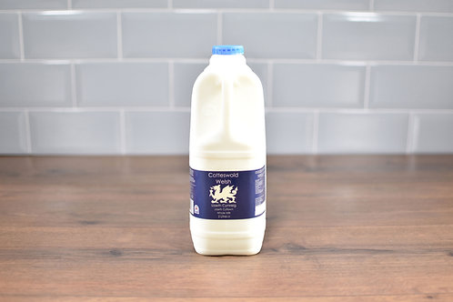 COTTESWOLD DAIRY WELSH WHOLE MILK 2 LITRES