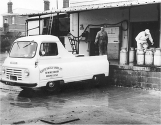 Cotteswold Dairy relocates to Cotteswold Road 1942