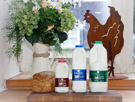 Our Welsh milk rebrand.