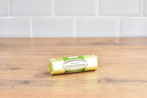 NETHEREND SALTED ORGANIC BUTTER ROLL 250g