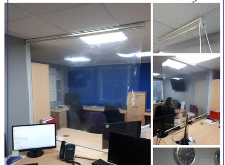 Featured Product: Protective Roller Blind