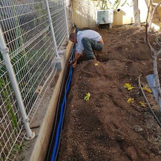 Azur Environnement Services - Travaux du jardin